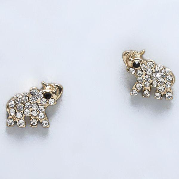 Crystal Ellie Earrings on Emma Stine Limited