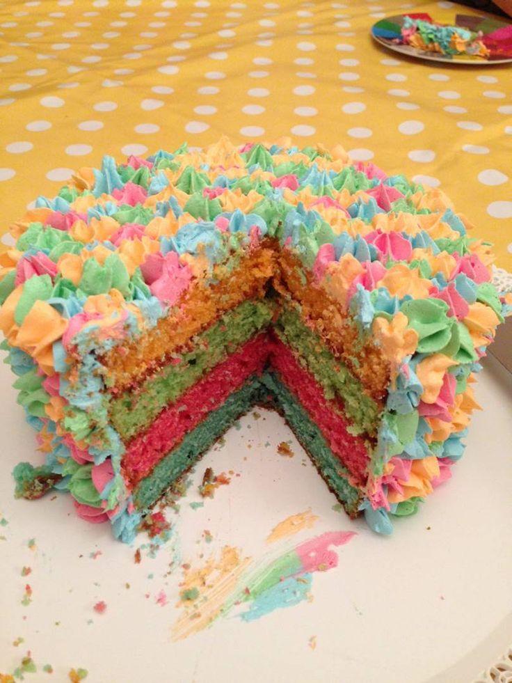 Teenage girl 14th birthday cake
