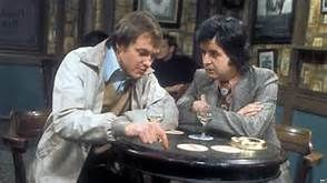 likely lads - James  Bolam and Rodney Bewes again in the follow up What Ever Happened To The Likely Lads