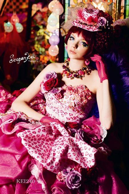 C5F-610 Sugar Kei ブランド オシャレでこだわり、個性的なウェディングドレス、カラードレス、タキシードレンタルならドレスショップブランシェ
