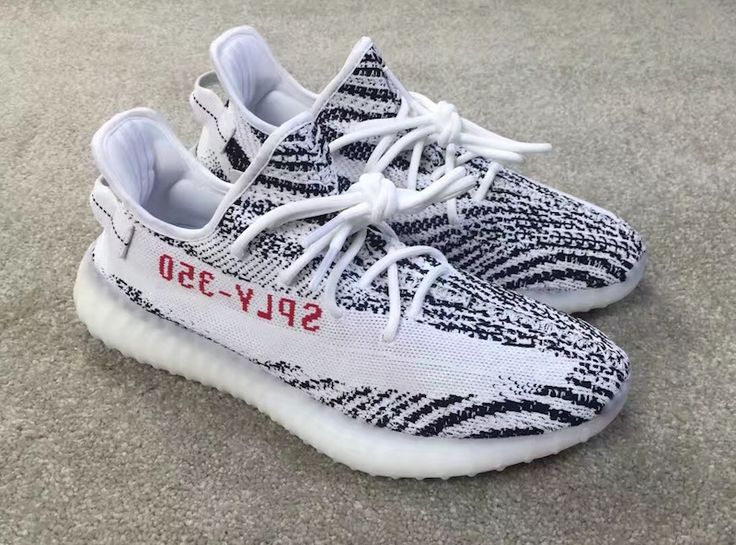 A Closer Look At The White/Black Colorway Of The adidas Yeezy Boost 350 V2 • KicksOnFire.com