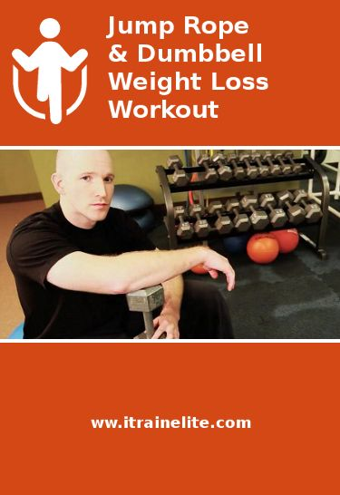 A FREE Dumbbell and Jump Rope Weight Loss Circuit. Burn Calories and Tone Your Body.