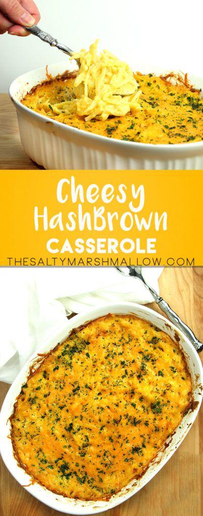 Easy Cheesy Hash Brown Casserole!