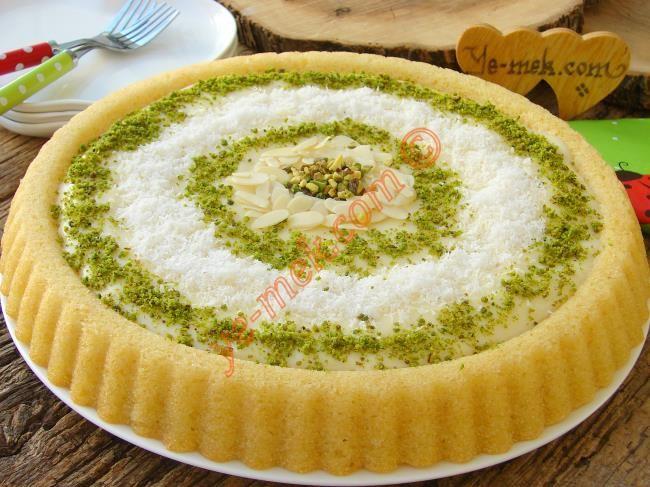 Kremalı Revani Resimli Tarifi - Yemek Tarifleri