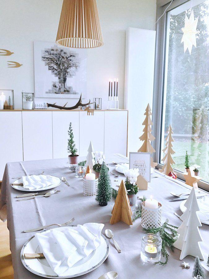 ber ideen zu tischdeko weihnachten auf pinterest