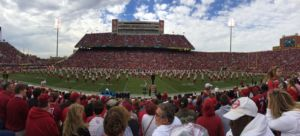 """""""Great Seats at OU Stadium!"""" Awesome view at the 50-yard-line. Go Sooners! Norman, OK  Photo by: heartglitter.com"""