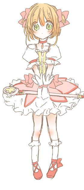 Puella Magi Sakura Kinomoto Magica... More can be found at Pixiv although they can't be directly pinned.