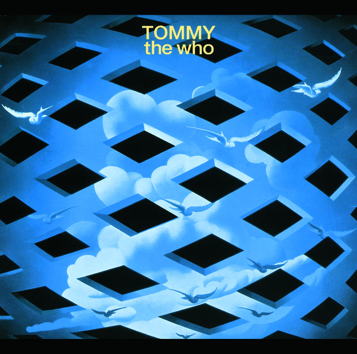 The Who Tommy 1969 Front Cover Artwork By Mike