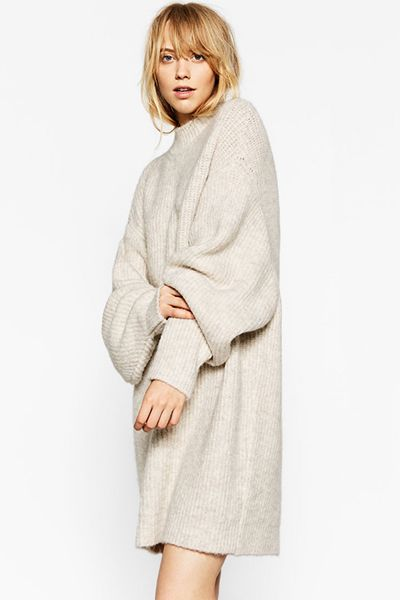 An underrated winter hero, the jumper dress is the ideal last-minute throw on for a flawless outfit with minimal effort. With multiple iterations available, go oversized with ASOS or Zara and pair with relaxed slip-ons and a long handled bag, or opt for something smarter, Whistles' tie waist or Jigsaw's long ribbed offering have caught our eye.