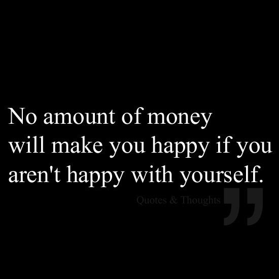 Money isn't everything.