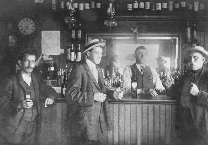 Bar de l'Hôtel Victoria, 1905