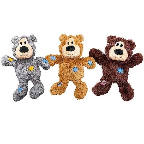 Kong Wildknots Bear Dog Toys Bear Dog Happy Animals