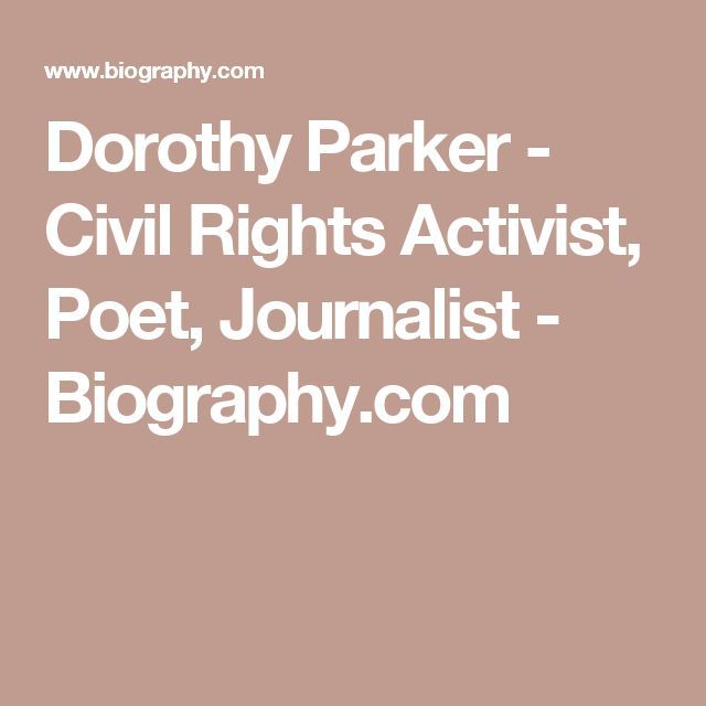Dorothy Parker Resume - Resume Ideas