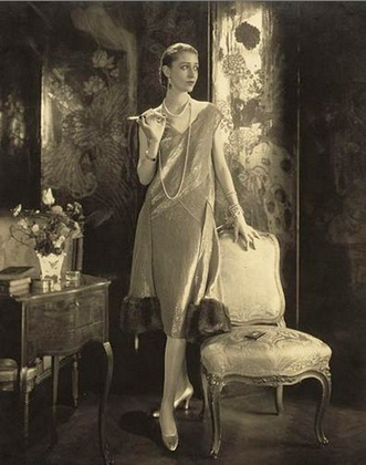 "The ""Little Silver Dress""...1920s style"