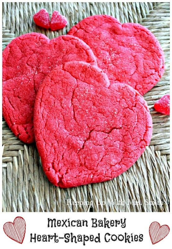 Keeping Up With Mrs. Smith | Mexican Bakery Heart-Shaped Cookies | http://keepingupwithmrssmith.com