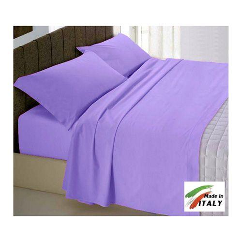 Coordinabili letto : Vesti di classico la tua casa con lenzuola copripiumini e CopriTrapunta LILLA