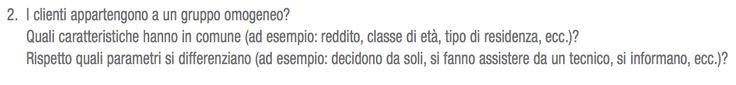 #MarketingDelSerramento: I clienti appartengono a un gruppo omogeneo... http://dld.bz/dhbat