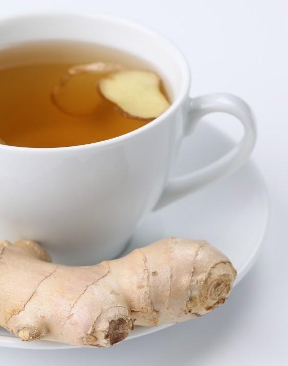 Infusiones para la diarrea: té de jengibre
