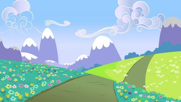 Image Result For Rolling Hills Cartoon Anime Scenery Wallpaper Pony Drawing Anime Scenery