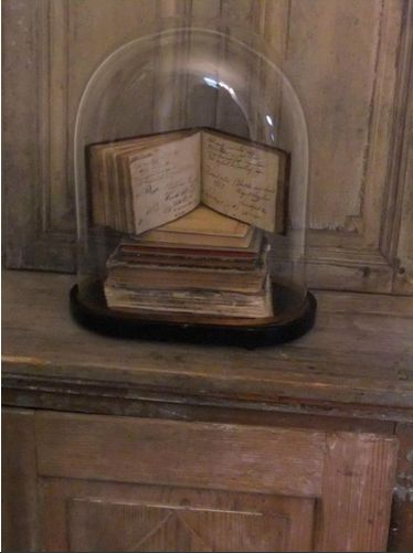 French books under a dome. what about the pastors journal I have?: