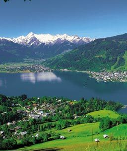 Zell am See, Austria.  We went there by mistake, but definitely didn't regret it!!