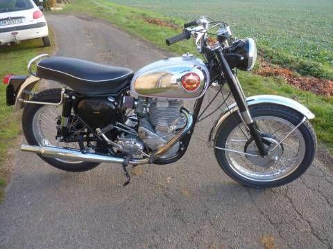 Moto BSA DBD34 Gold Star 1956 Vintage