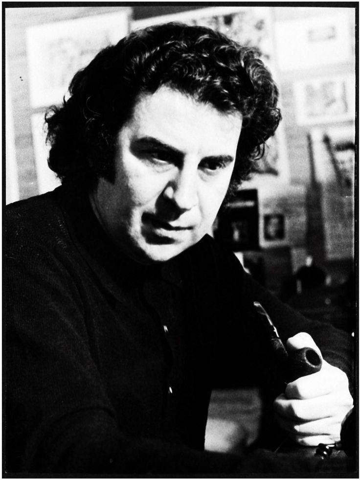 Ο Μίκης Θεοδωράκης το 1971 στο Παρίσι.