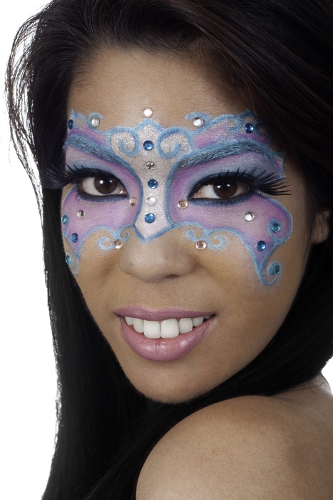 22 best antifaz images on Pinterest | Masks, Halloween makeup and ...
