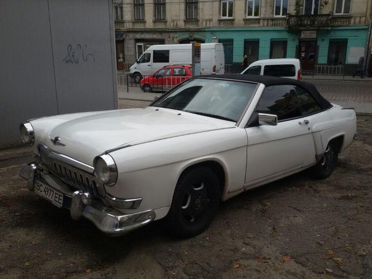 ГАЗ 21 Волга-Мерседес во Львове – ретро кабриолет с немецкой начинкой