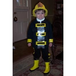 diy halloween easy homemade halloween costumes diy - Fireman Halloween