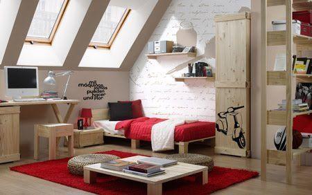 Decoracion de recamaras con poco dinero unas fotograf as - Decoracion con muebles antiguos ...