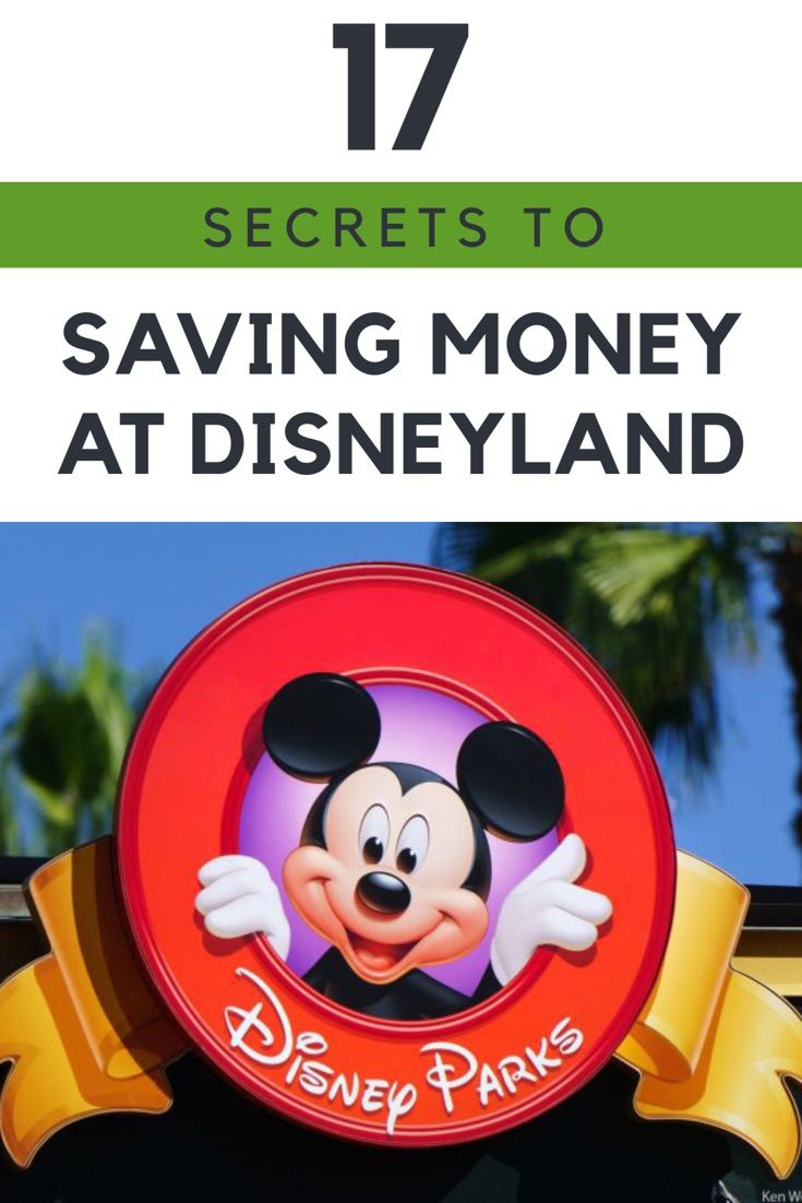 Make sure you use these secret tips to saving money at Disneyland next time you visit.