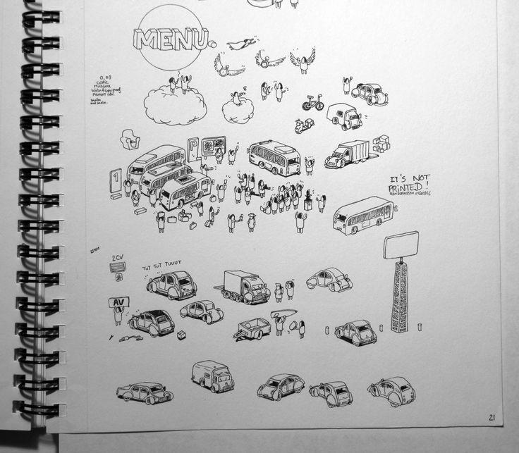 Miniature Caracters