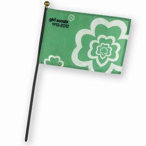 100th ANNIVERSARY STICK FLAG