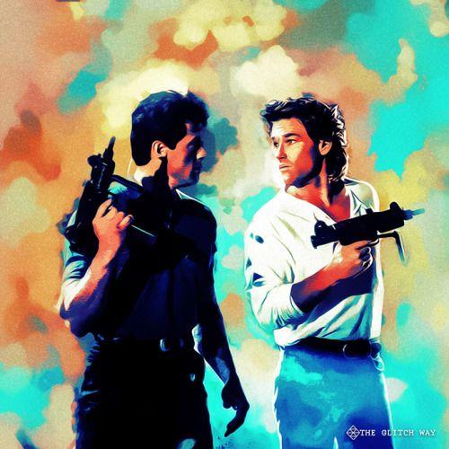 Tango & Cash Fan Art - http://glitchway.tumblr.com