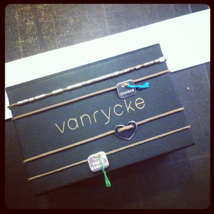 #vanrycke silver collection  @ www.matieresareflexion.com Chance, Porte-bonheur, Coeur et perles épurées - take a pick !!!