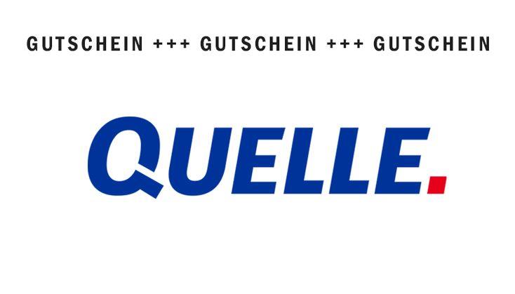 QUELLE Gutscheine für Januar 2018 - 15€ für Neukunden.