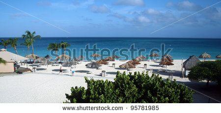 Caribbean beach by Adriano Castelli, via ShutterStock
