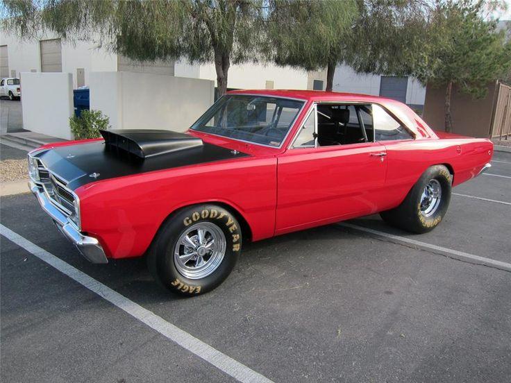 1968 DODGE HEMI DART SUPER STOCK 426 2x4bbl Hemi V8/HD 727 auto/4.88 Dana Locker Axle & HD cooling