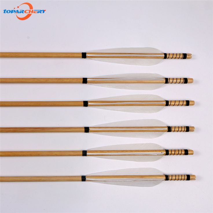 ==> [Free Shipping] Buy Best 12pcs Archery Wooden Arrows Wood Shaft Real Feather for Traditional Recurve Bow Long bow Hunting Game with Steel Broadheads Tips Online with LOWEST Price | 32781427843