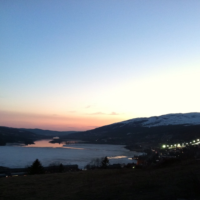 Åre by night in the summer