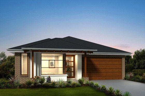 Planos de casas de un piso incluye las fachadas de for Viviendas modernas fachadas
