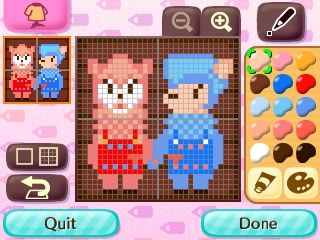 Reese & Cyrus Pattern Animal Crossing New Leaf Qr Code
