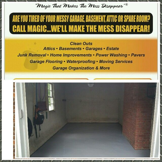 285 best Magic Garage Cleaners 60 Minute Price Quote! images on - price quotations