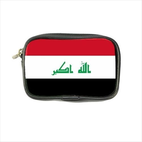 12.54$  Buy now - http://vihny.justgood.pw/vig/item.php?t=xtw1u36410 - Iraq Flag Leather Coin Purse
