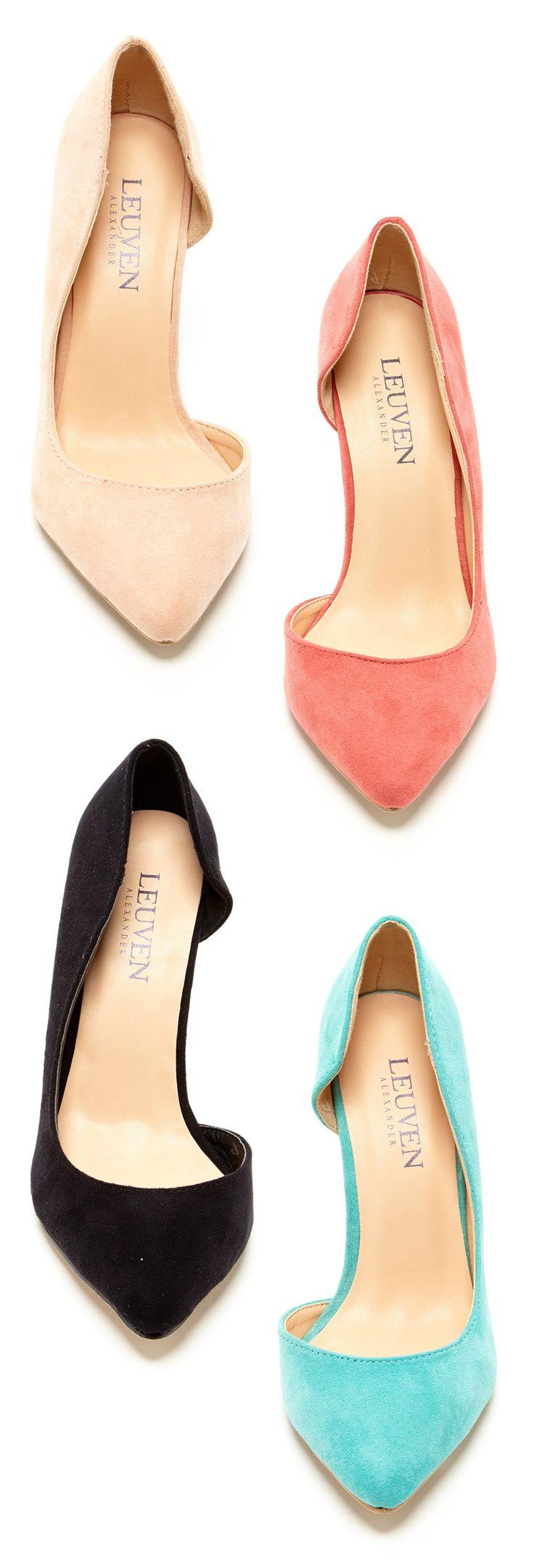 Half d'Orsay heels // honestly, I want them all...