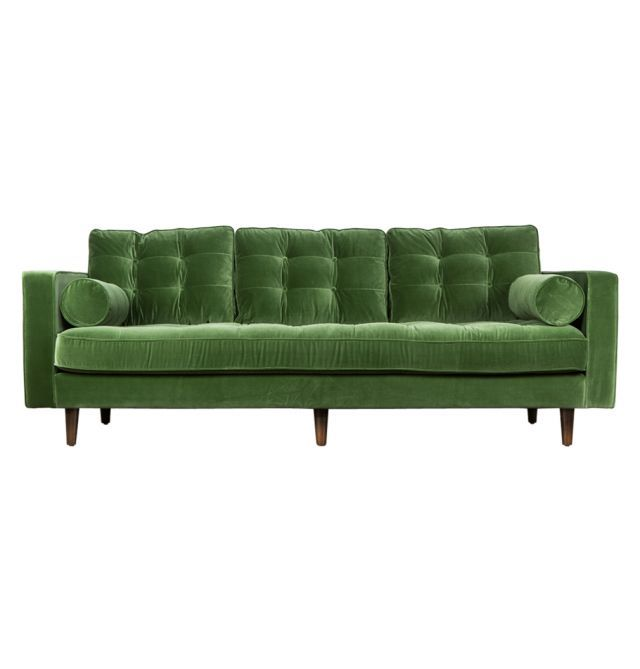 Lexington Velvet 3 Seater Sofa