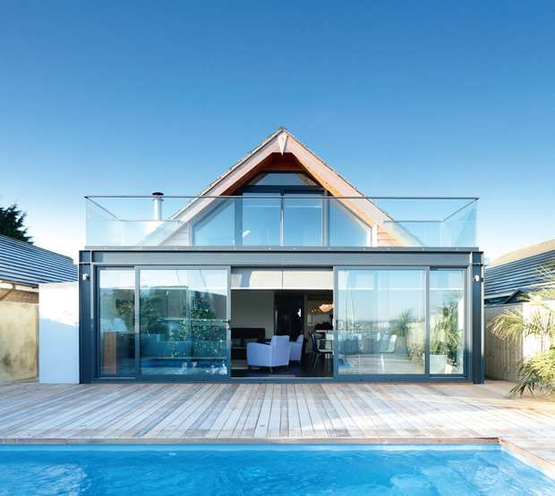 Transforming a 1950s seafront bungalow real homes - Bungalow extension designs ...