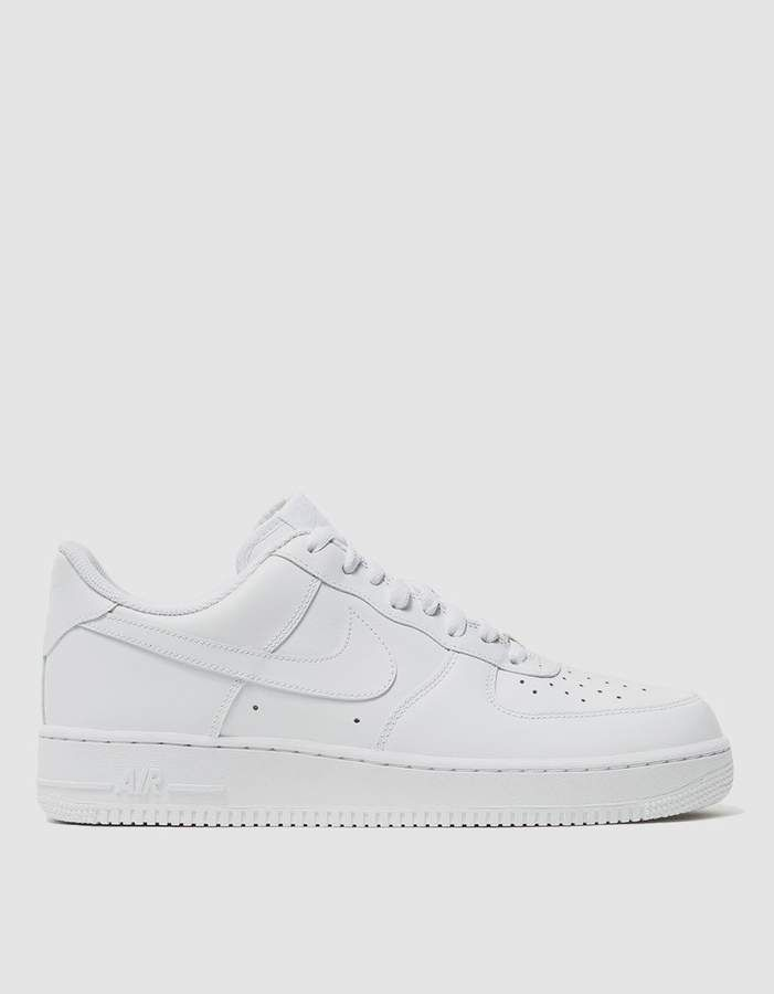 723f2fba0dc9 Nike Force 1  07 Sneaker in White in 2019