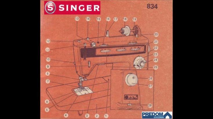 SINGER 834
